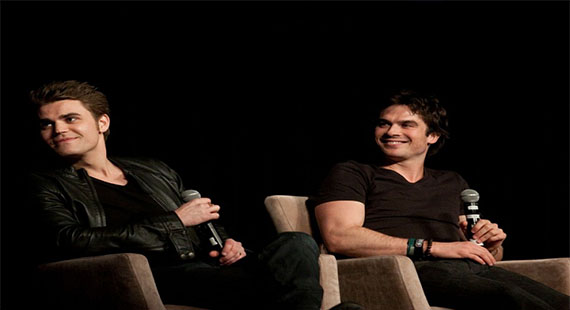 Highlights from The Vampire Diaries Vegas Convention (April 13&14)