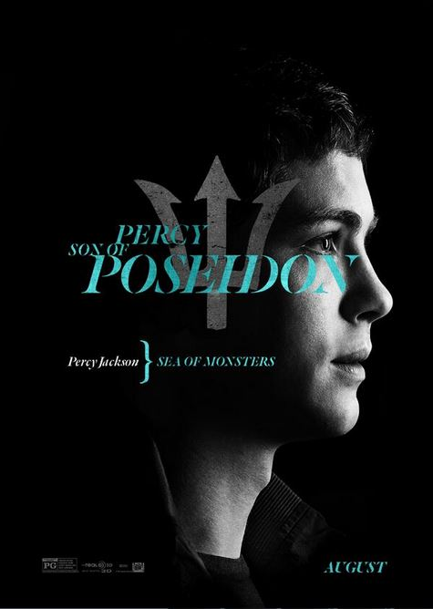 'Percy Jackson and the Sea of Monsters' Character Posters