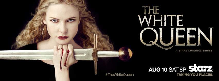 Underneath the costumes in 'The White Queen'