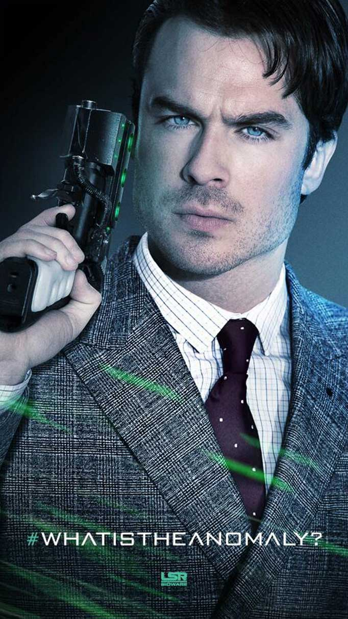 FIRST LOOK: Ian Somerhalder on 'The Anomaly' Poster