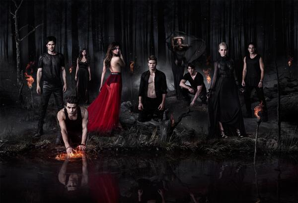 TV Guide Exclusive: 'The Vampire Diaries' Cast Promo Poster for Season 5