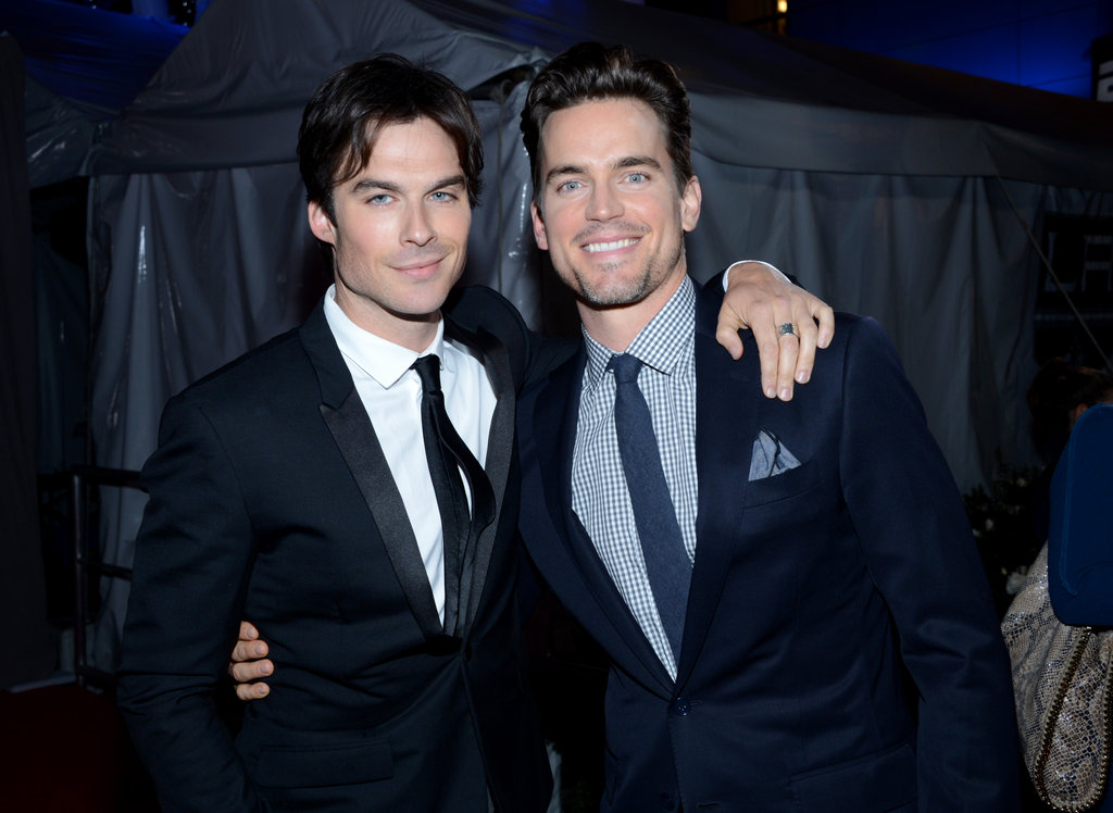Ian Somerhalder and Matt Bomer Never in the '50' Running