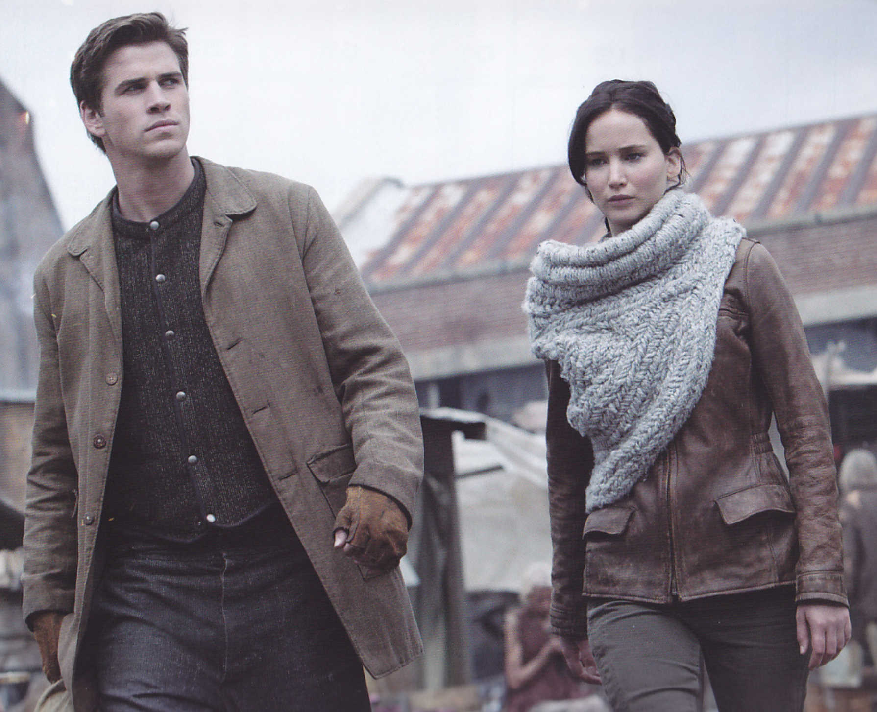 MUST HAVE: The Katniss Cowl Scarf from CATCHING FIRE