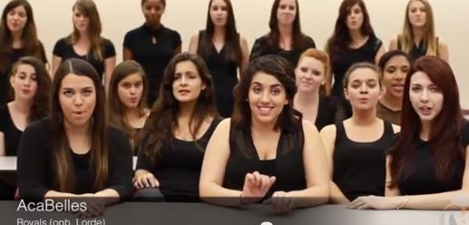 2013-12-04 18_56_43-Florida State University AcaBelles Rock Lorde's 'Royals' A Cappella (VIDEO)