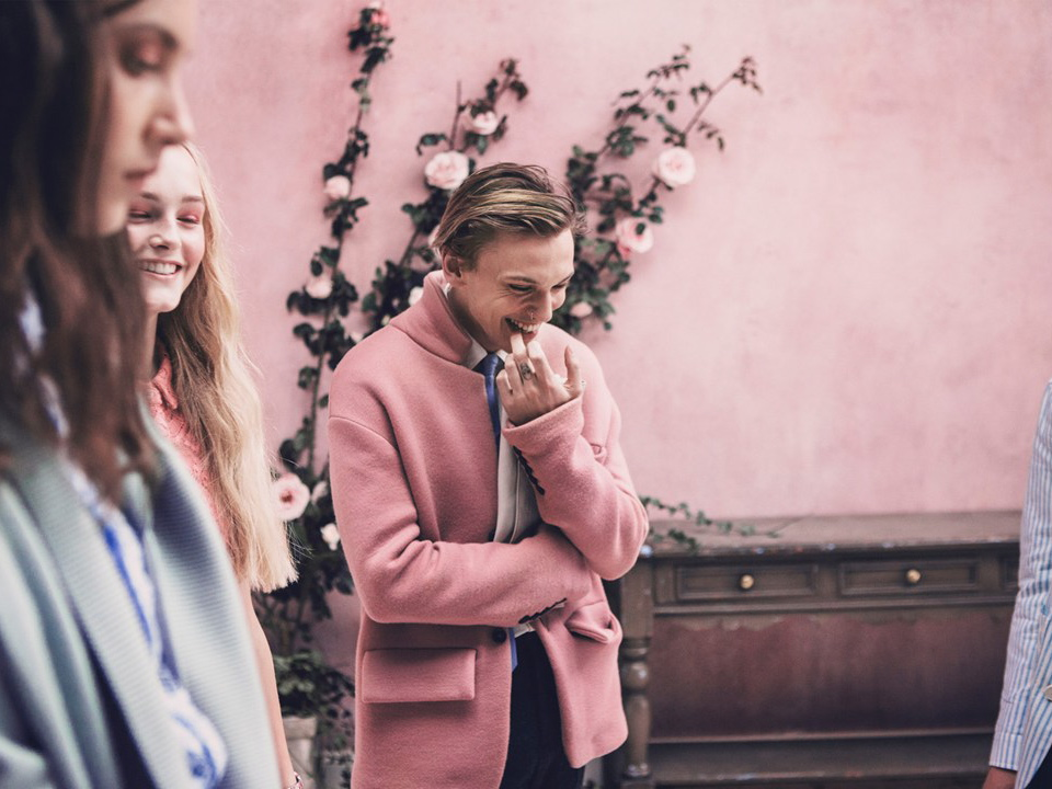 Jamie Campbell Bower Stars in New Burberry Campaign
