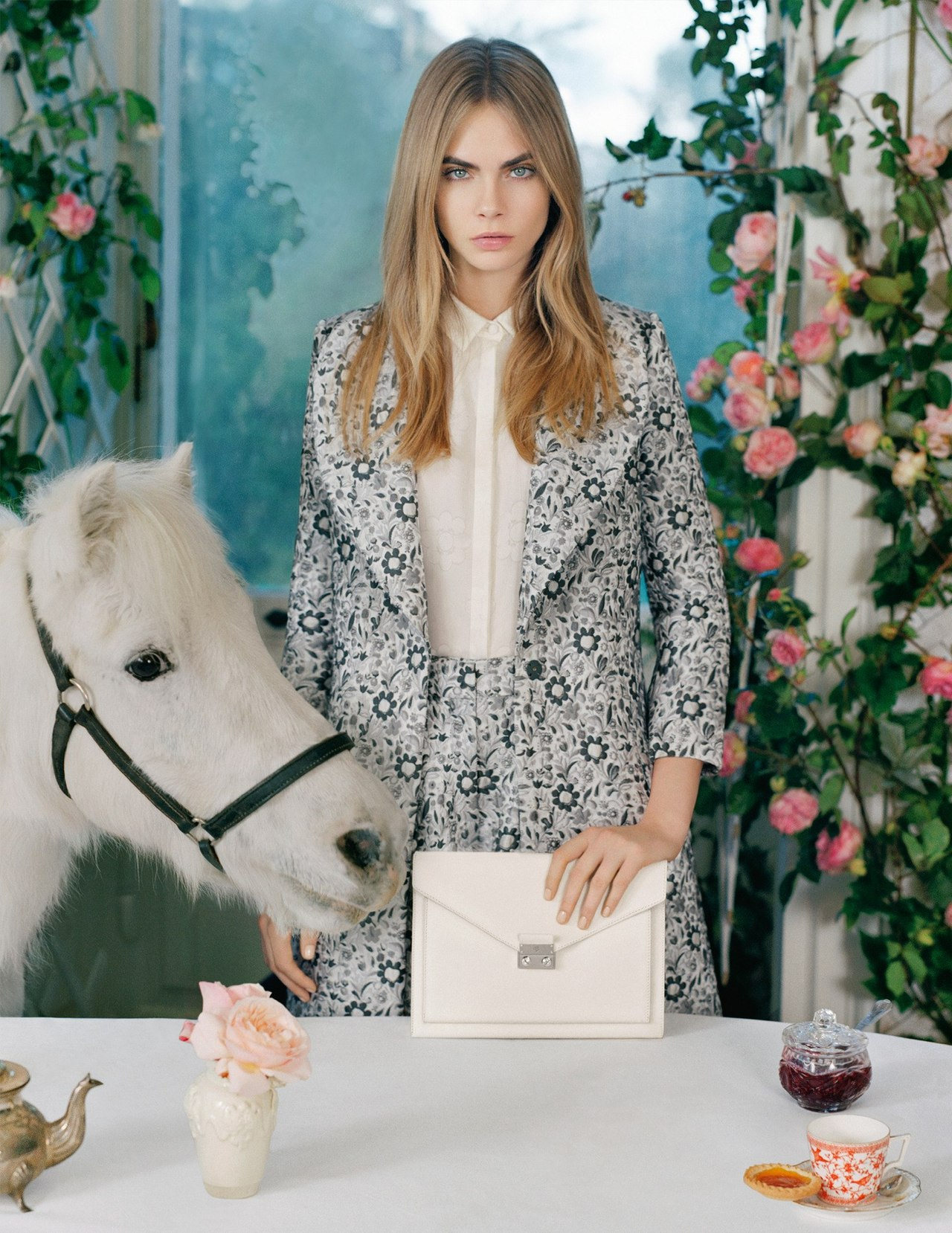 Cara Delevingne Stars in New Mulberry Campaign