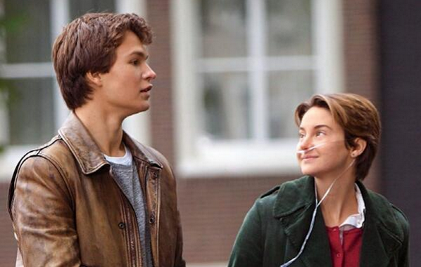New Still of Shailene Woodley & Ansel Elgort from THE FAULT IN OUR STARS